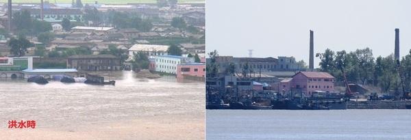 洪水対岸の北朝鮮.jpg